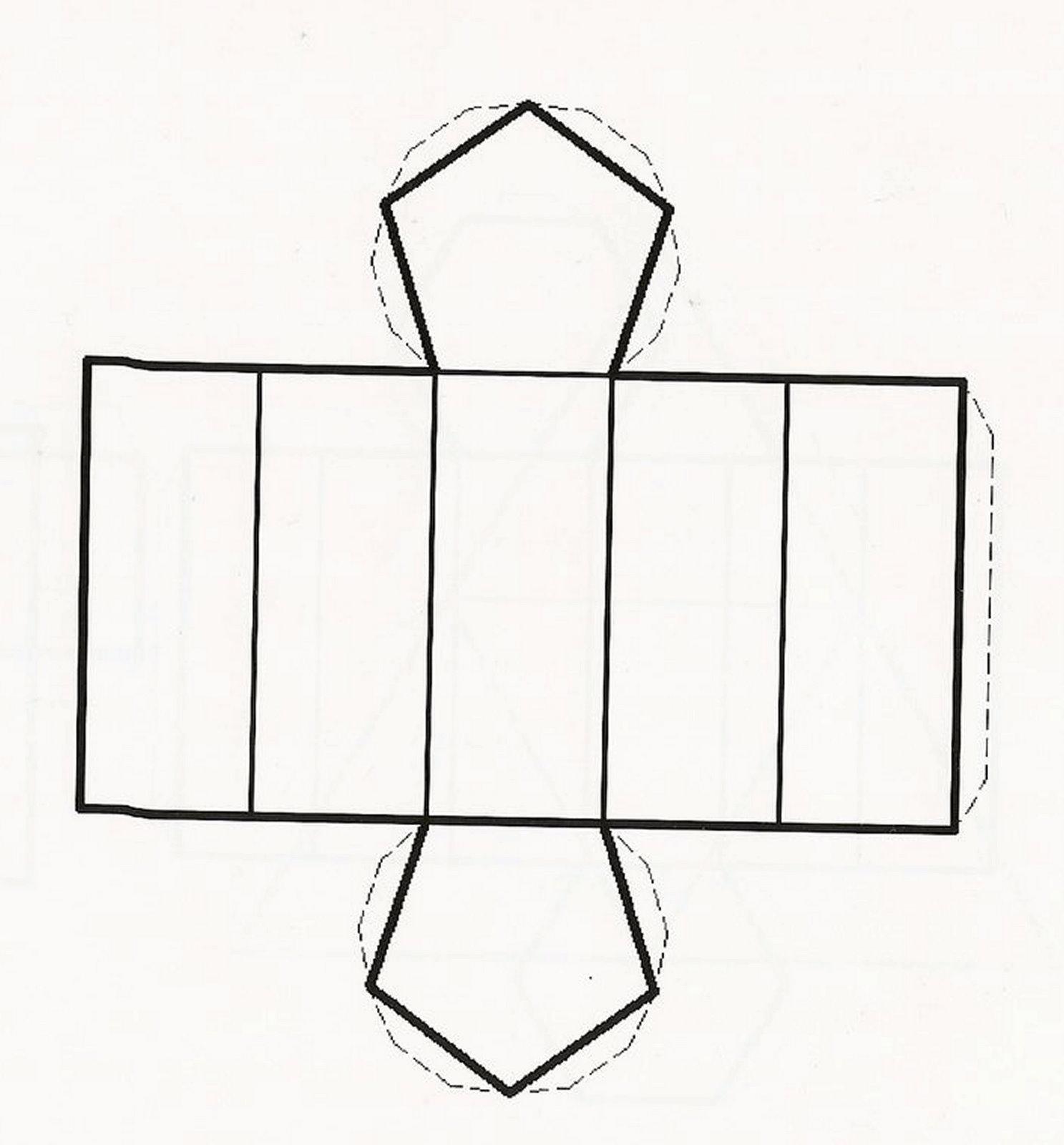 Как сделать треугольную призму из бумаги