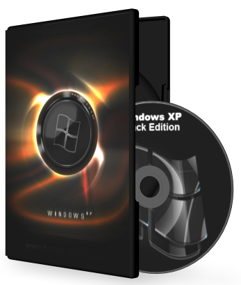Win XP Pro SP3 Black Edition Integrated September 2013