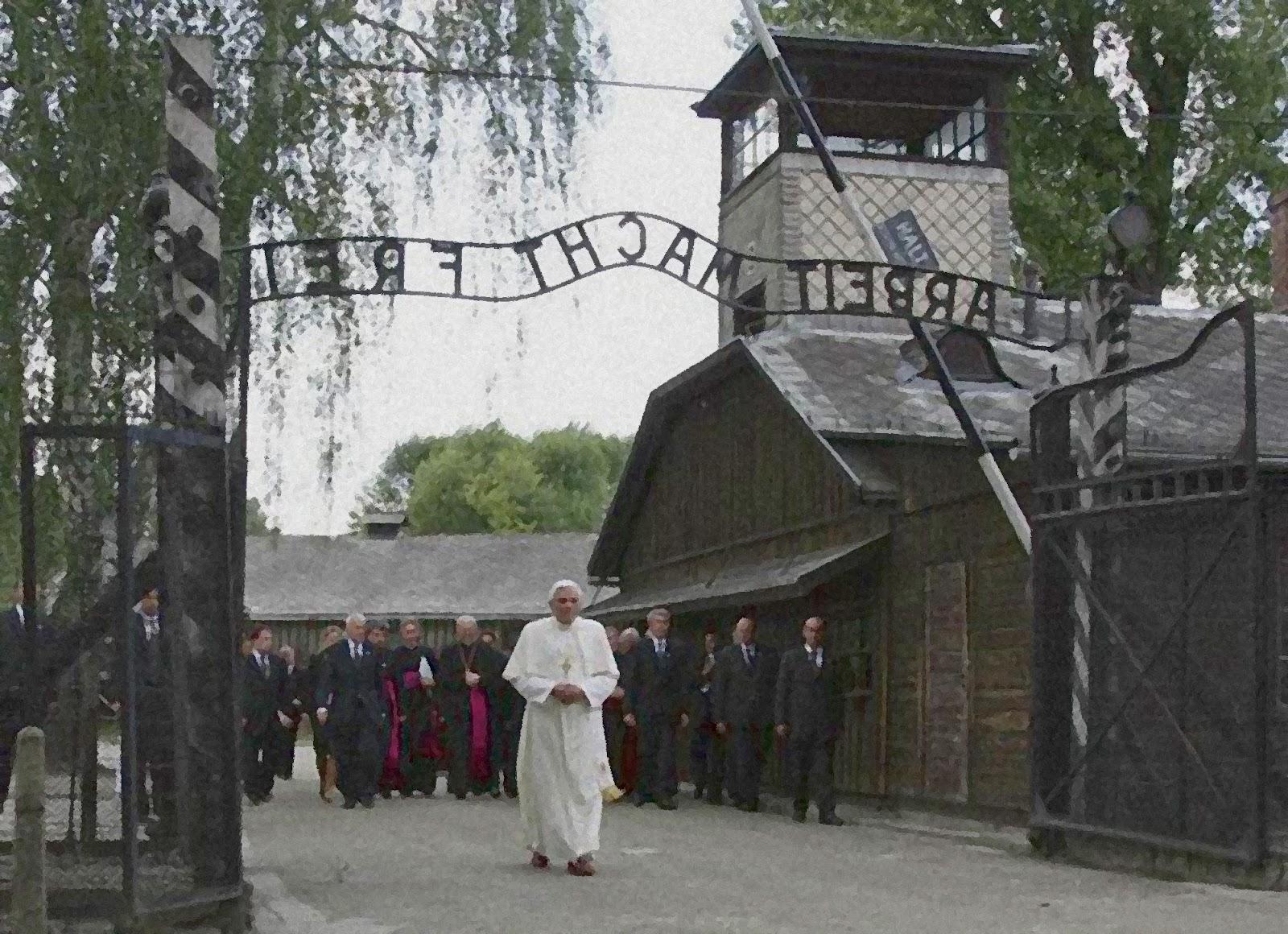 Benedicto en Auschwitz