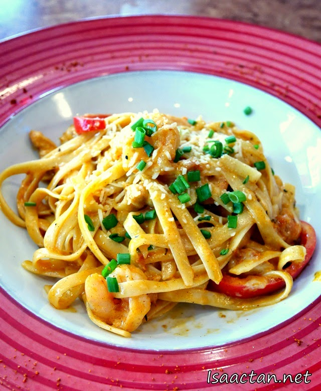 #1 Cajun Shrimp & Chicken Pasta - RM32.90
