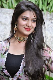 Actress Siya Gautham Picture Gallery in Long Dress at Pilavani Perantam Telugu Movie Opening  6.jpg
