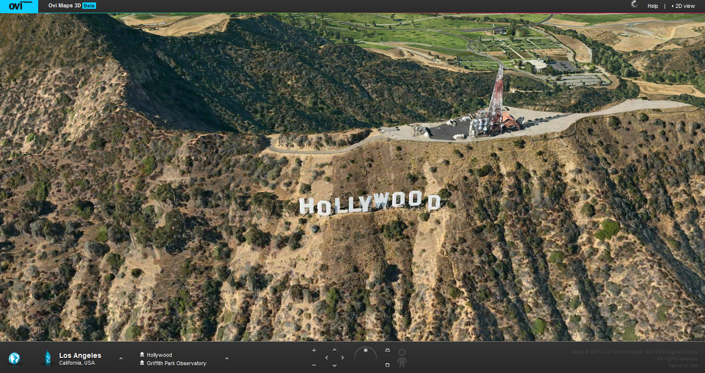 how to see the hollywood sign up close