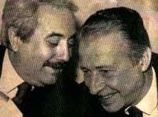 Due grandi uomini.
