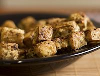 Petiscos Crocantes de Tofu (vegana)