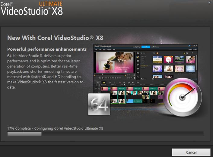 corel videostudio ultimate x8 18 with keygen