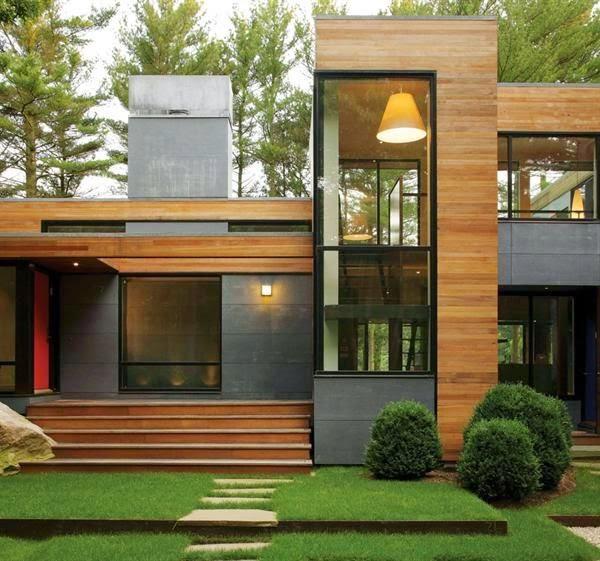 Inspirasi Desain Rumah Kayu Minimalis