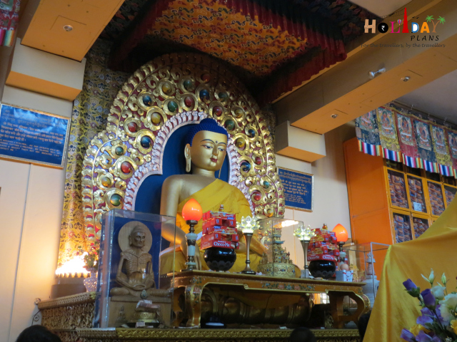 Buddha Statue at Namgyal Monastry