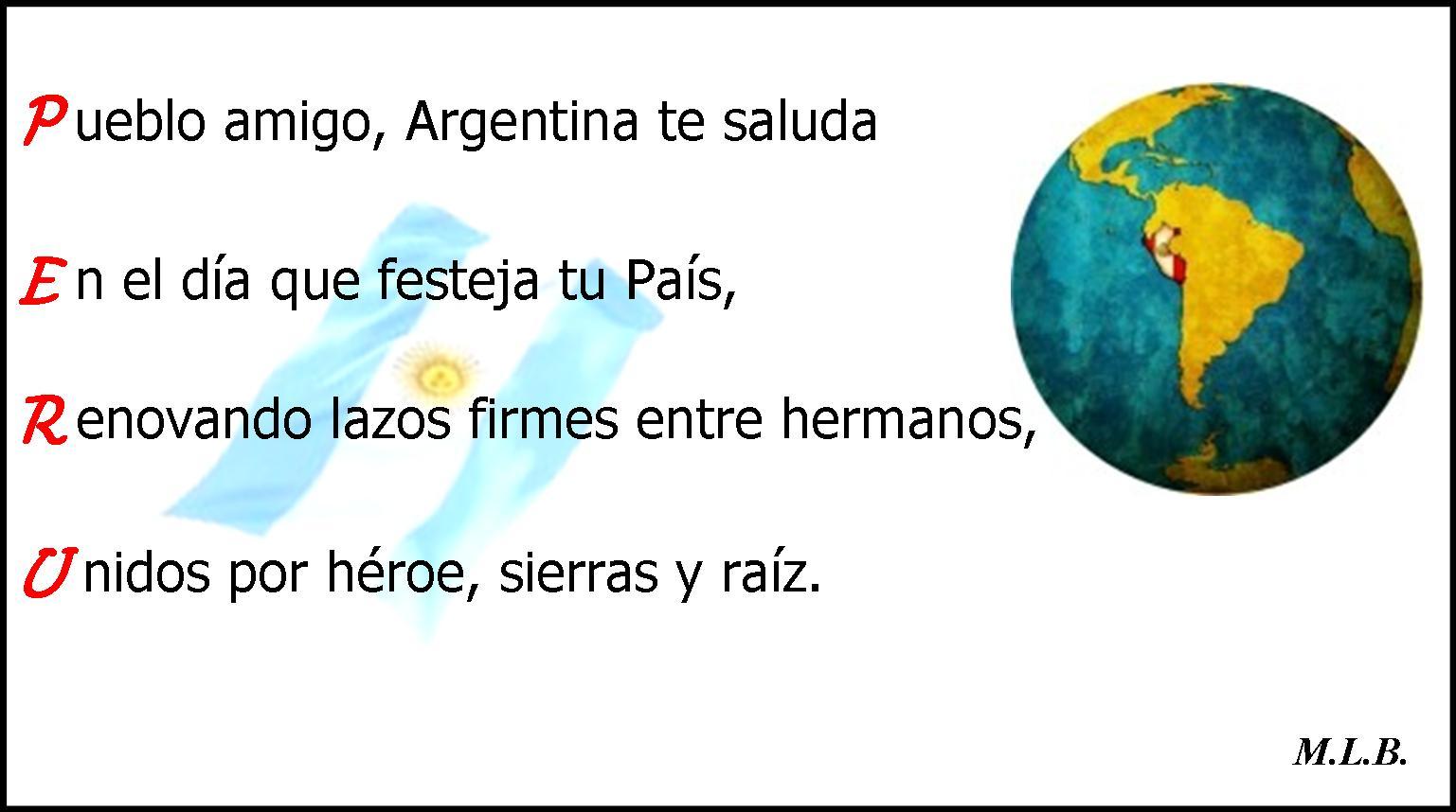 Versos Del Dia De La Patria Peru | newhairstylesformen2014.com