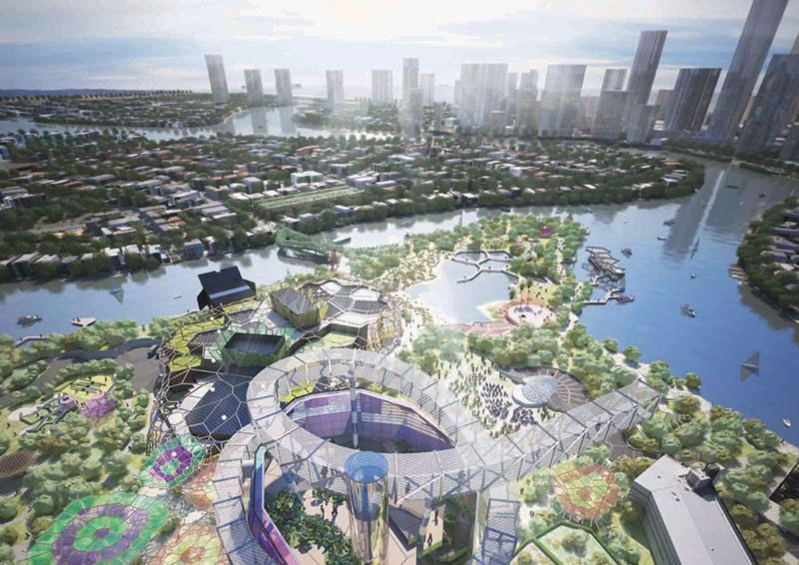 Arm architecture wins the gold coast cultural precinct for Landscape architect gold coast