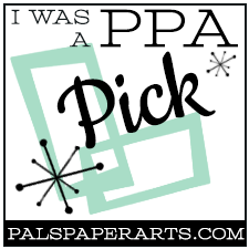 I was a Pals Paper Arts Pick