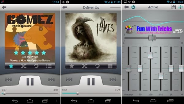 Top music players for android