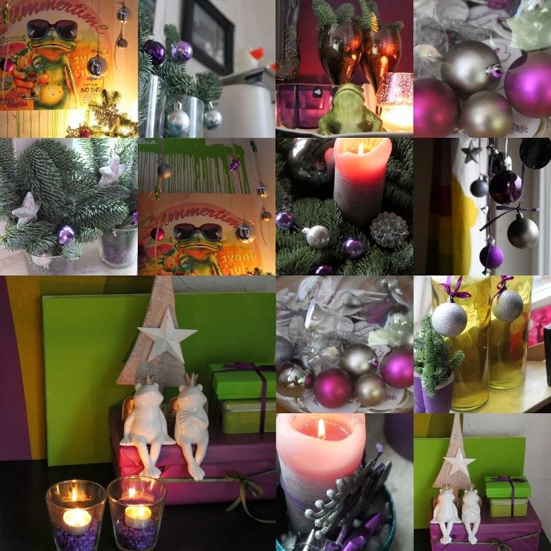 The purple frog du k nntest ruhig noch etwas - Weihnachtlich dekorieren wohnung ...