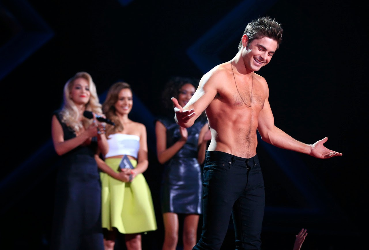 Zac Efron MTV Awards