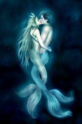 sirena y triton