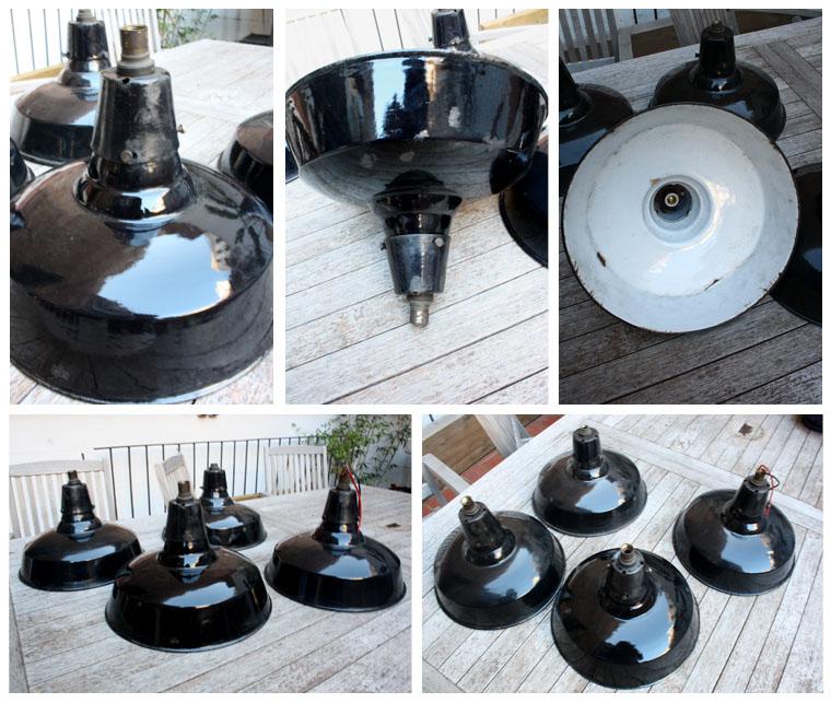 Lamparas urban vintage campanas industriales - Lamparas industriales de techo ...