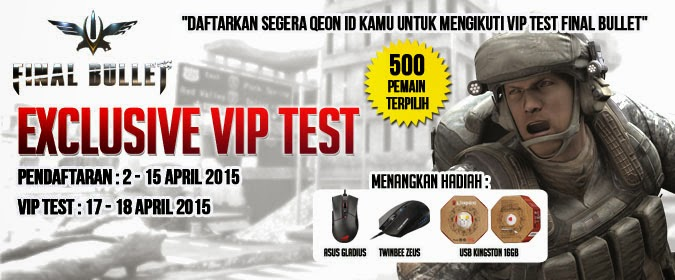 Download QPlay Launcher dan Gabung di Exclusive VIP Test Final Bullet Indonesia