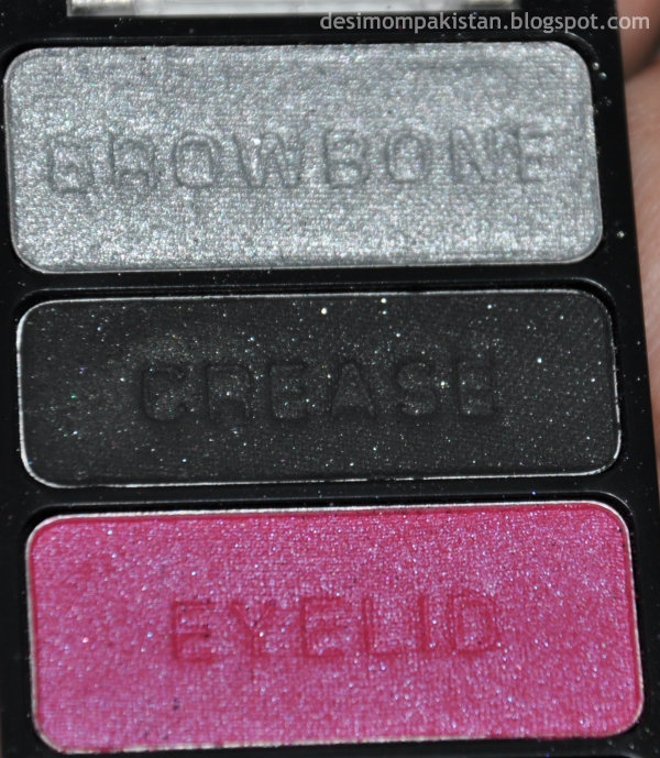 WET n WILD COLOR ICON EYE SHADOW TRIO IN SPOILED BRAT closeup