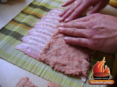 Grillowane mielone roll BBQ sezon grillowy pomysły na grilla