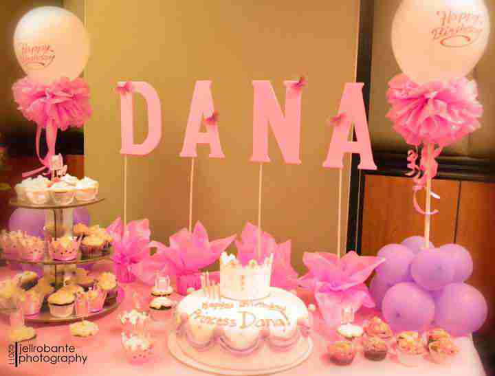 tipid party pink birthday party