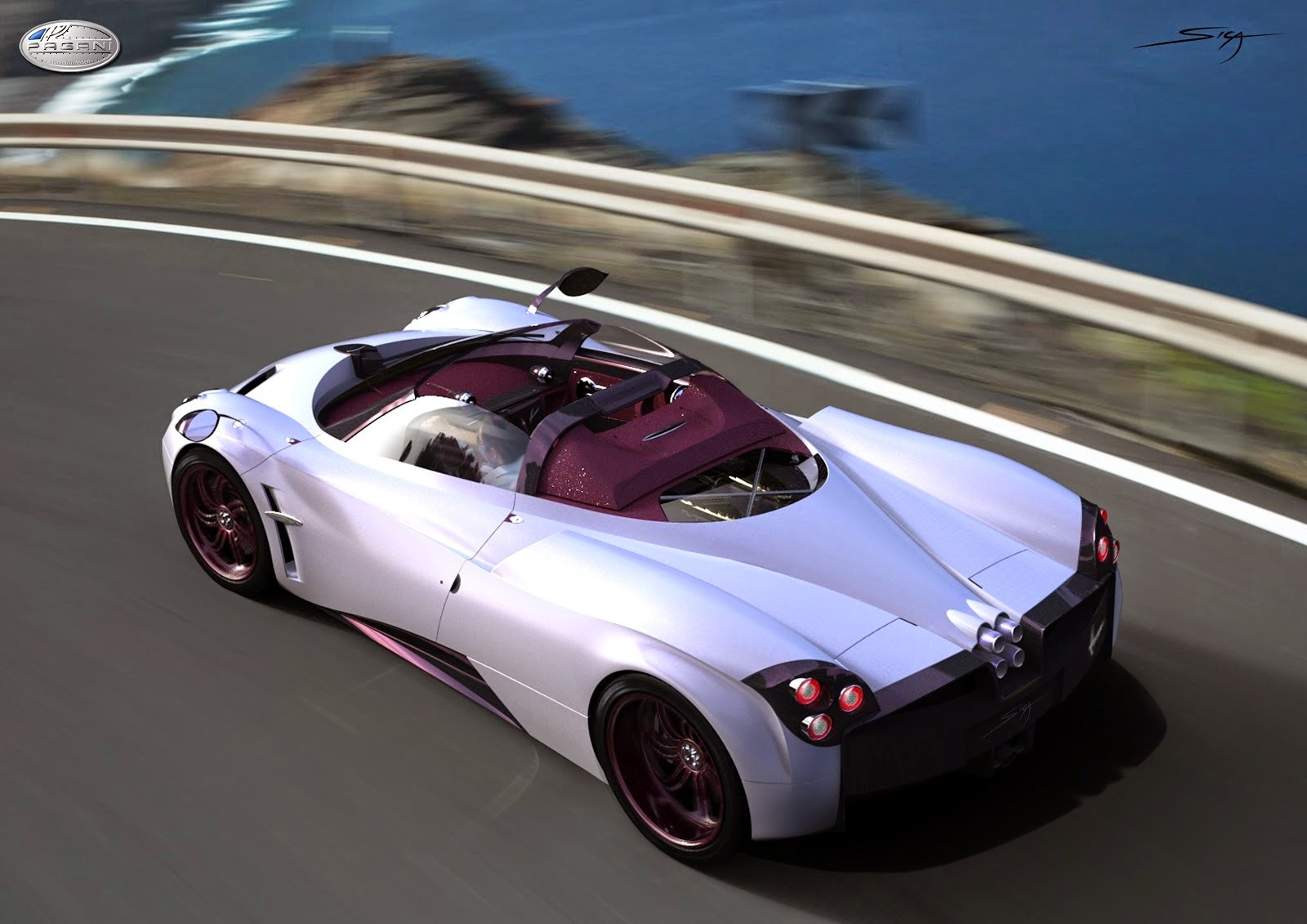 pagani huayra roadster slated to debut early 2016 at. Black Bedroom Furniture Sets. Home Design Ideas