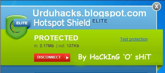 hotspot shield login