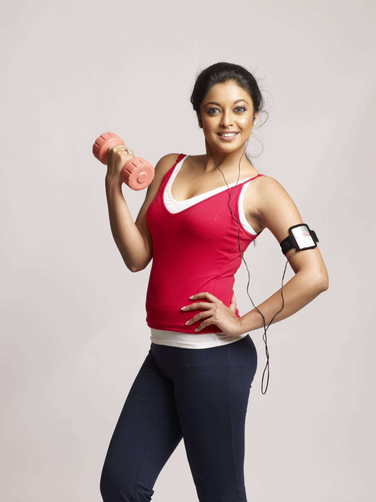 Tanushree Dutta Photos at Gym