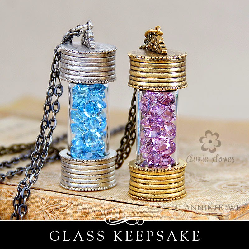 Glass Keepsake Lockets