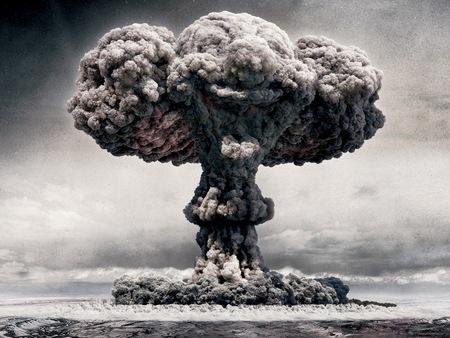 Explosión nuclear en Hiroshima