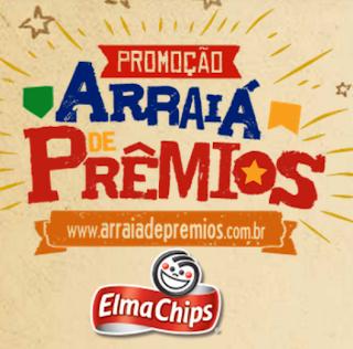 """PROMOÇÃO ELMA CHIPS 2013 """"ARRAÍA DE PRÊMIOS"""""""