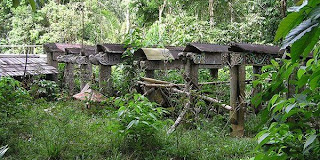 Kuburan yang jadi objek wisata
