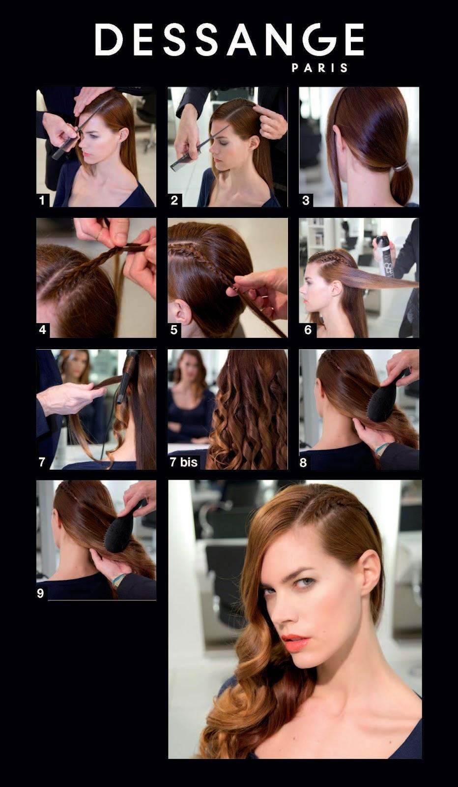 Tuto%2BSide Hair%2BTresse%CC%81 hd 1 Le glamour de la montée des marches