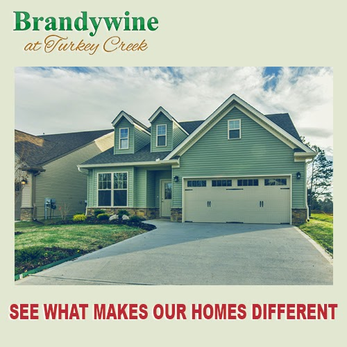 Brandywine at turkey creek new homes for sale knoxville tn for Home builders in knoxville tennessee