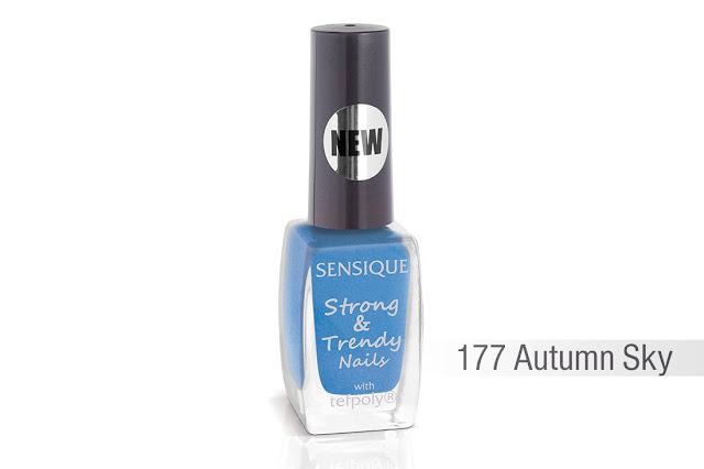 Sensique, Strong & Trendy Nails, 177 Autumn Sky