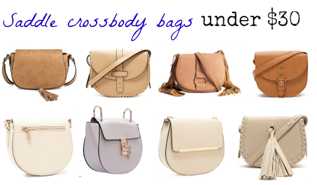 Saddle Crossbody Bags