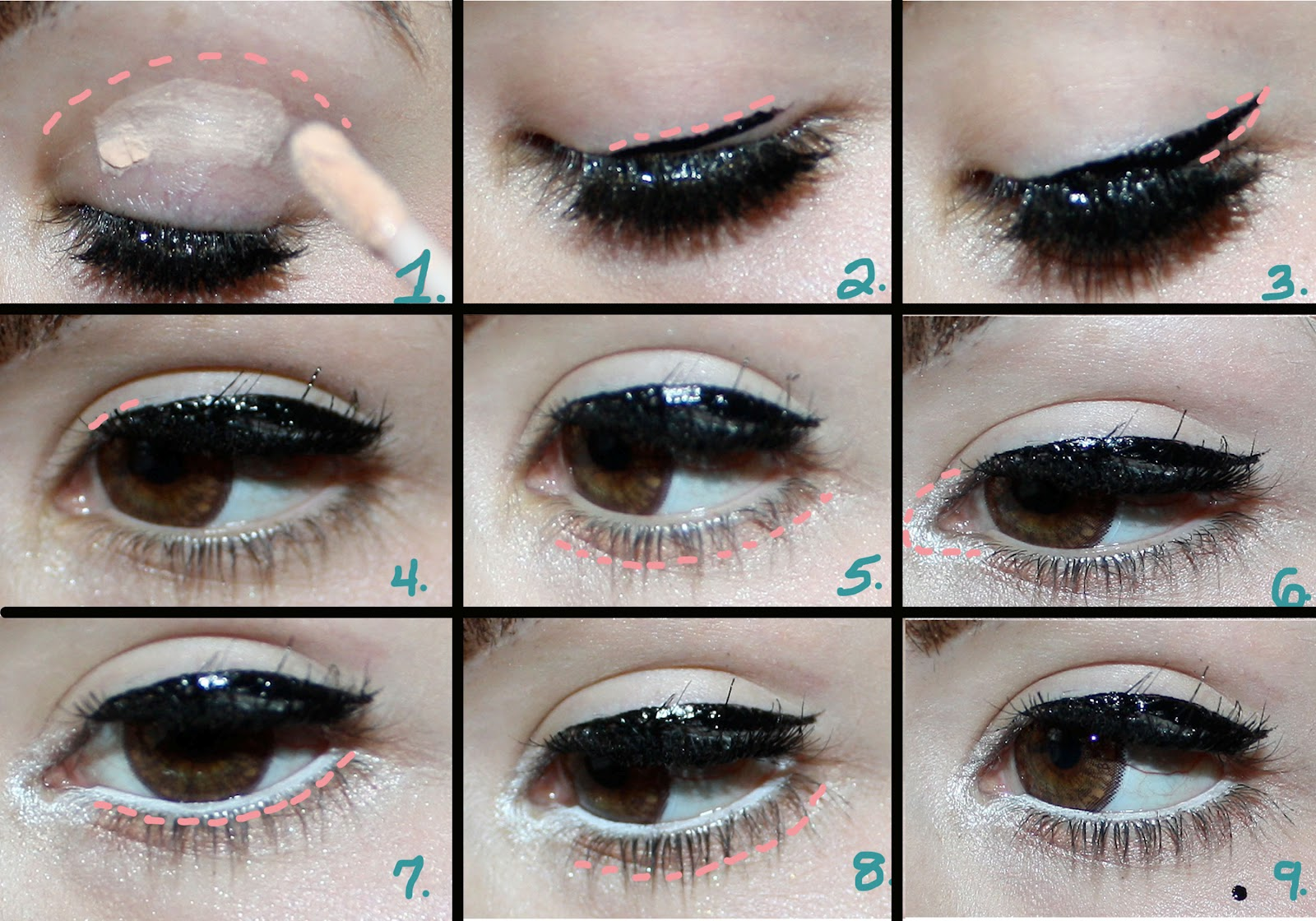Makeup Howto CatEye Liner 50s Retro  YouTube