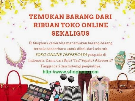Shopious.com Direktori Toko Online Fashion Terpercaya