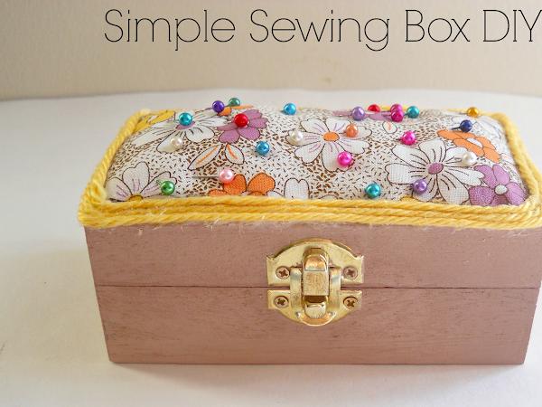 Simple Sewing Box DIY