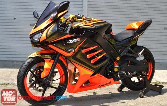 modifikasi ninja 250r model zx