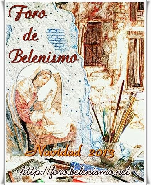 Cartel Foro Belenismo 2013