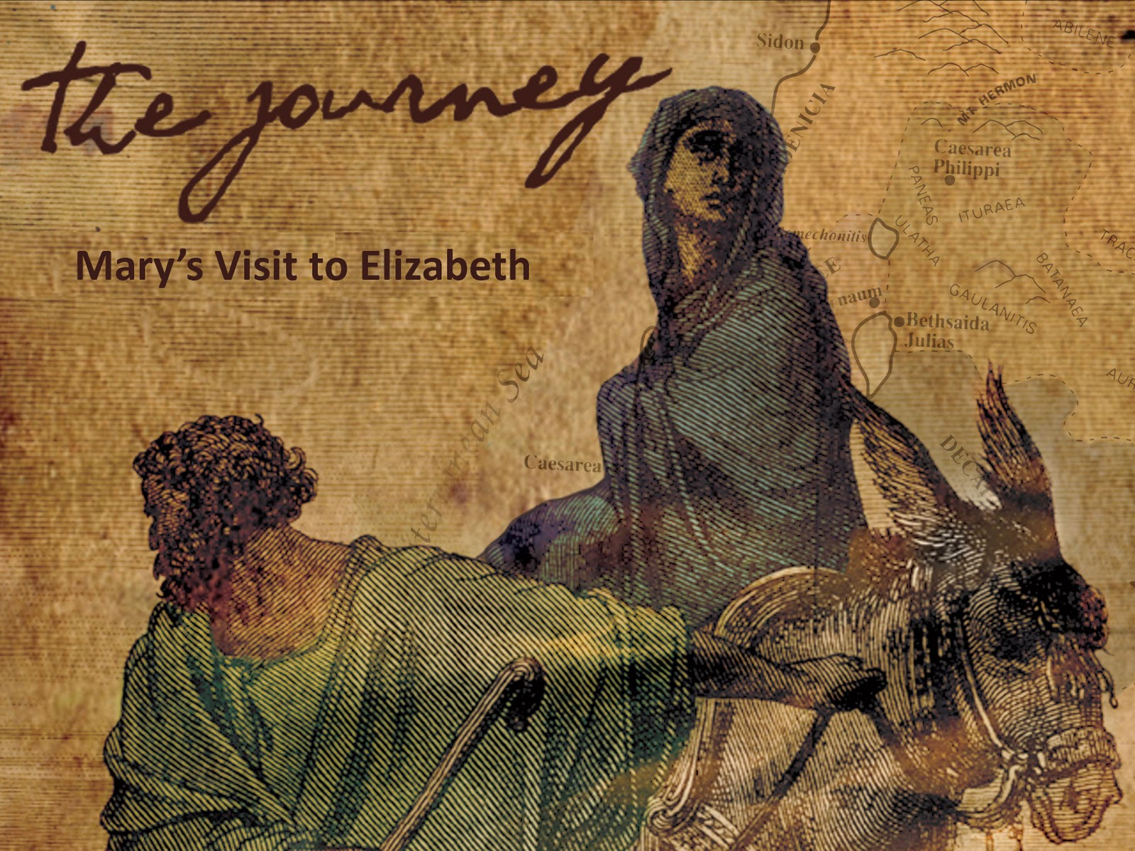 Andy At Faith The Journey Marys Visit To Elizabeth