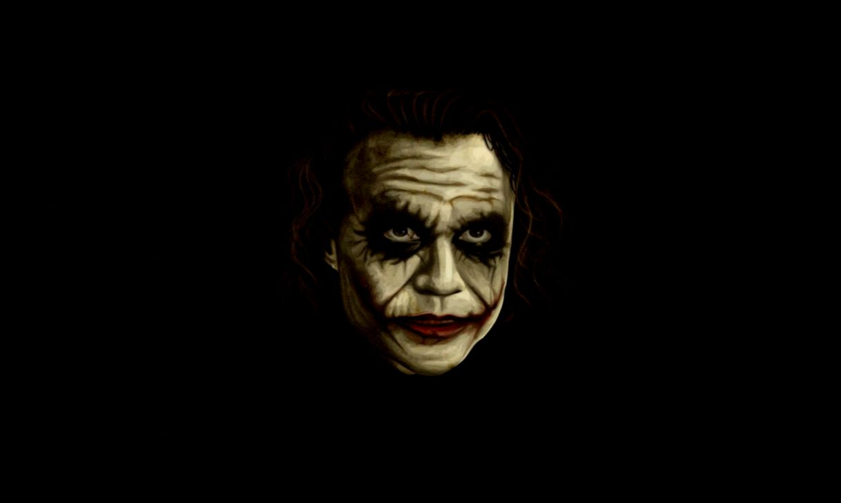 Heath Ledger Joker Iphone Wallpaper