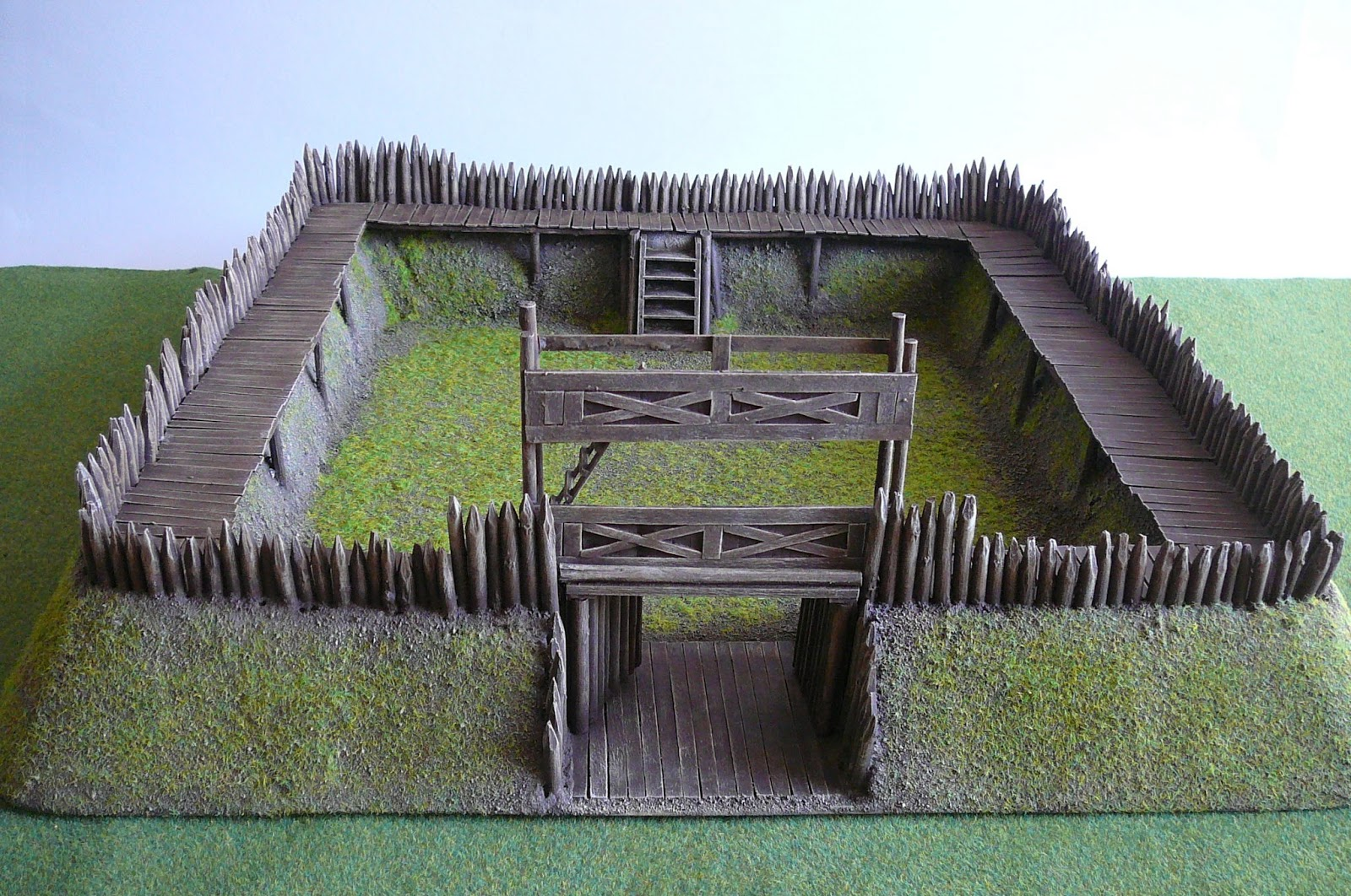 Lucky punk 28mm roman fort for How to make a fort out of wood
