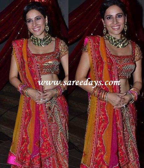 Latest saree designs kanchi kaul and sahbir ahluwalia sangeet kanchi kaul and sahbir ahluwalia sangeet altavistaventures Images