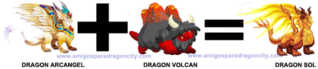 como sacar el dragon sol en dragon city 3