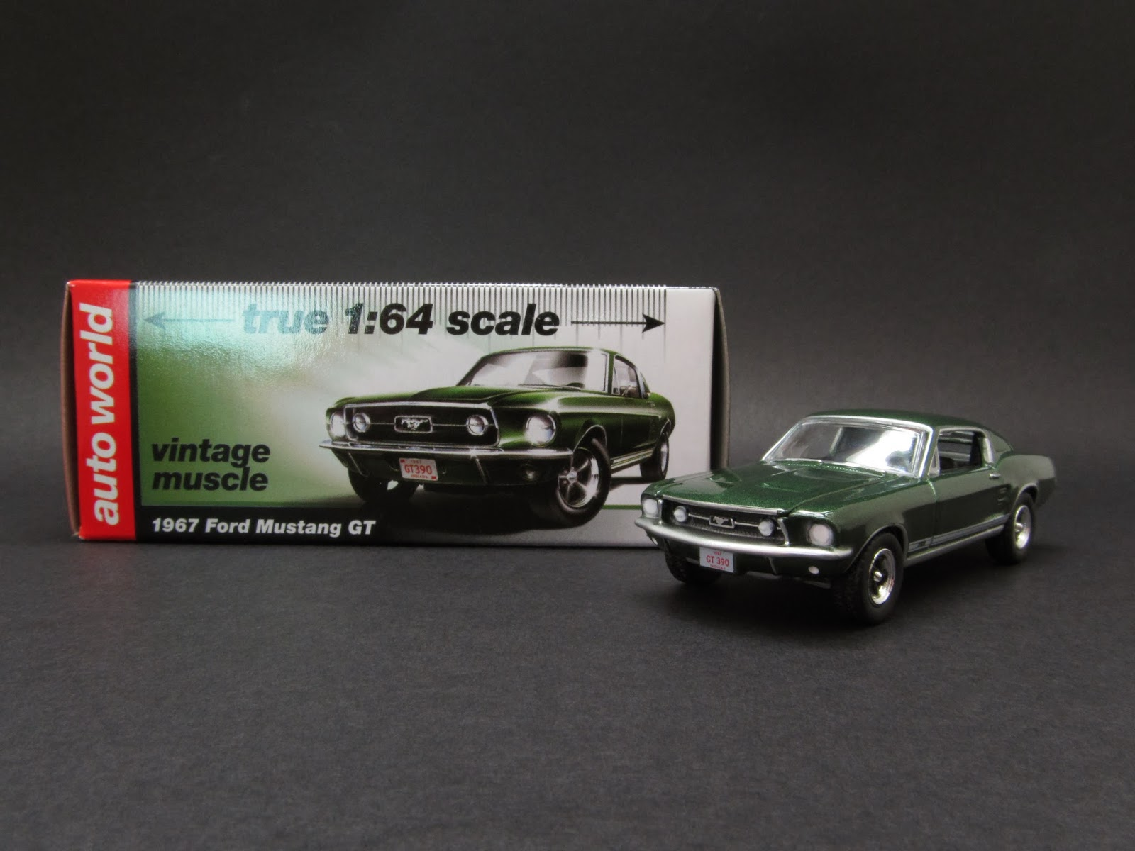 Diecast Hobbist: 1967 Ford Mustang GT
