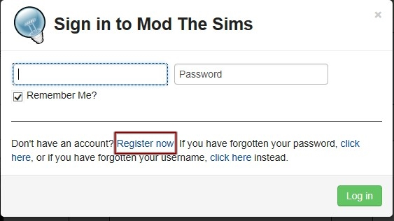the sims 3 register mod