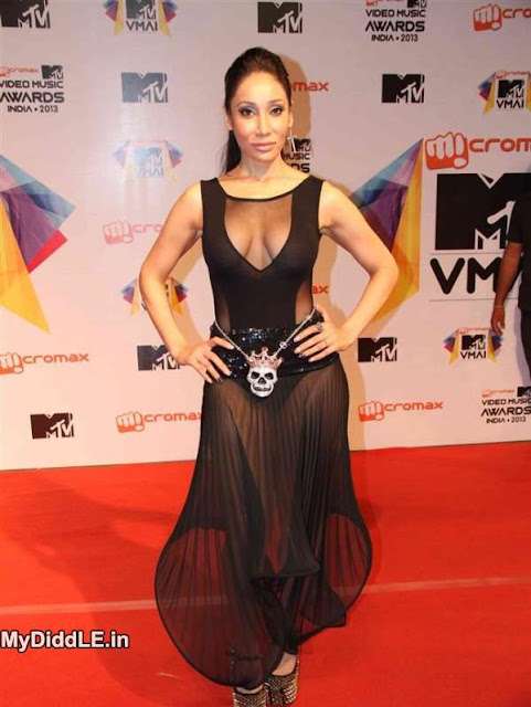 Sofia Hayat Transparent gown