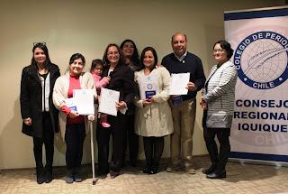 Colegio de Periodistas de Iquique dio la bienvenida a nuevos colegiados