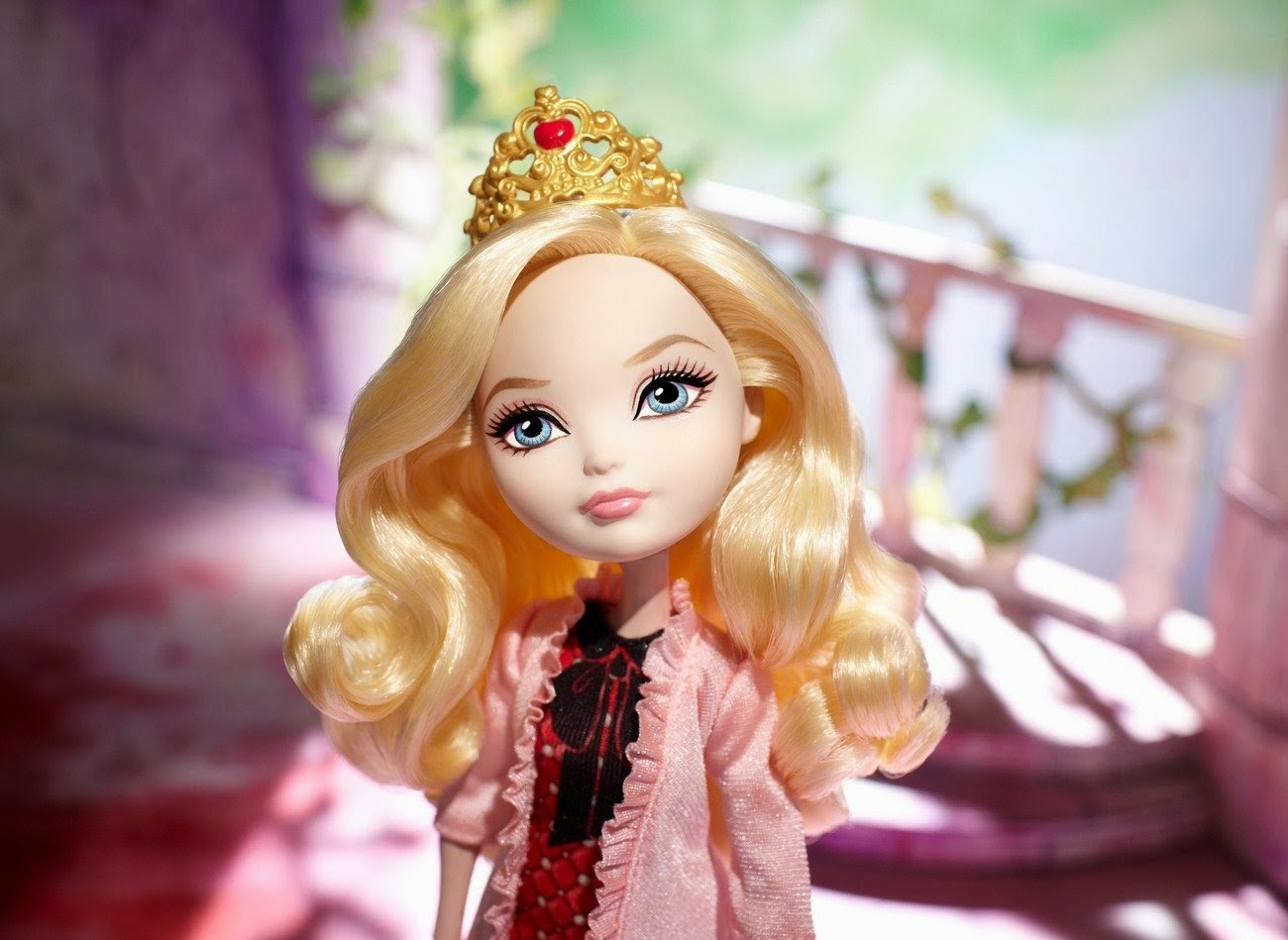 TOYS - Muñeca Apple White : Ever After High   Colección Getting Fairest // Baile de Corazones  Juguete Oficial | Mattel BDL39 | A partir de 6 años