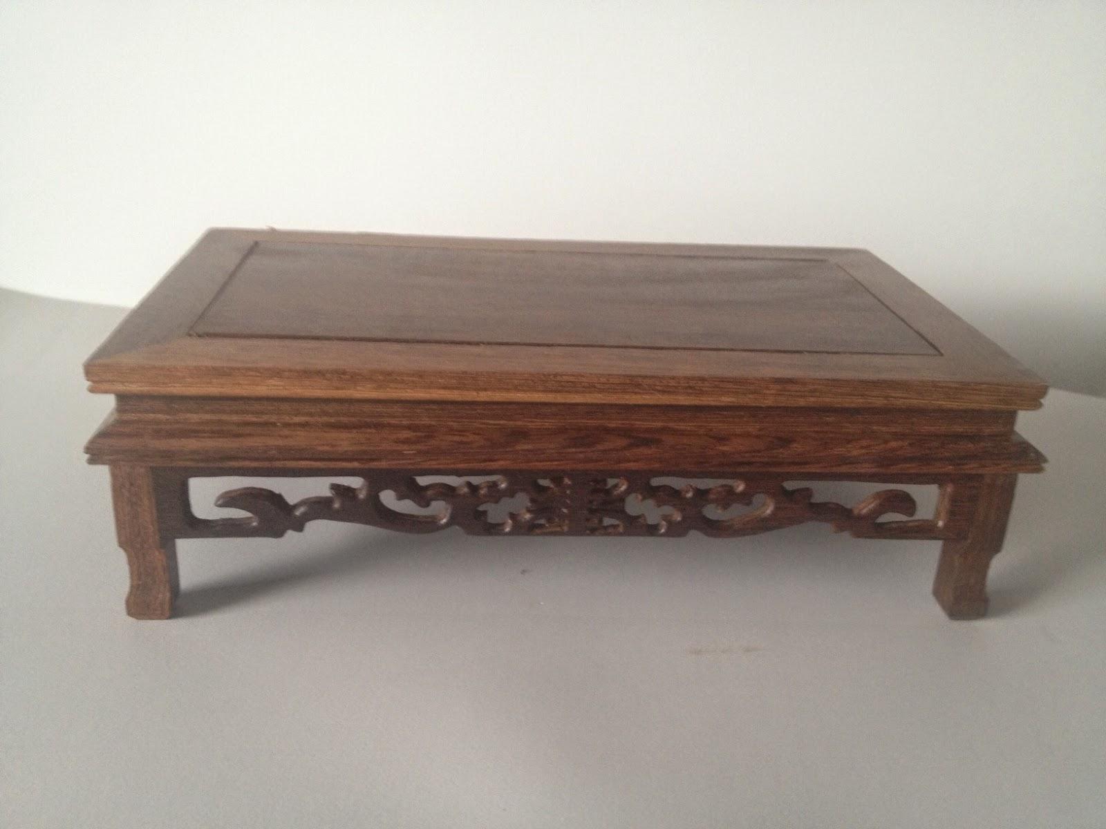 diario de un bonsai mis nuevas mesas